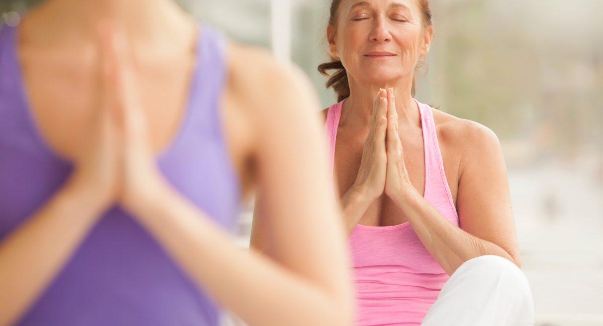 Menopausa, lo Yoga e il tempo per se stesse